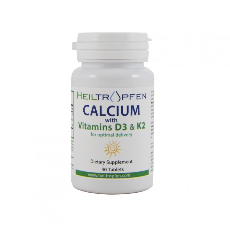 KALZIUM mit Vitaminen D3 und K2