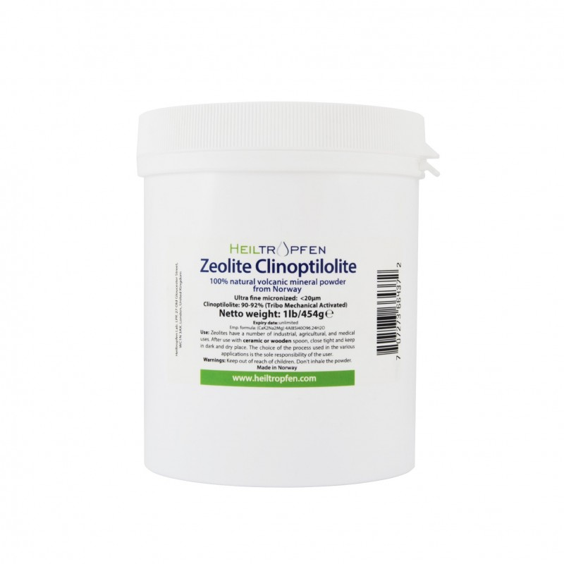 Zeolite clinoptilolite powder 454g