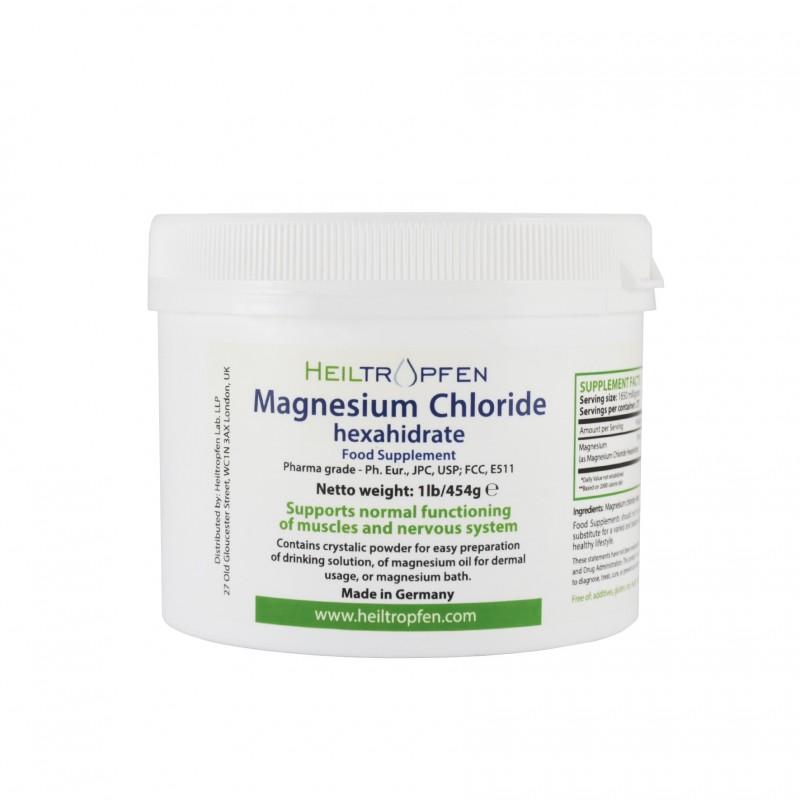 Magnesium Chloride Hexahydrate Powder 454g