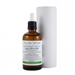 Colloidal silver 25ppm, 100ml