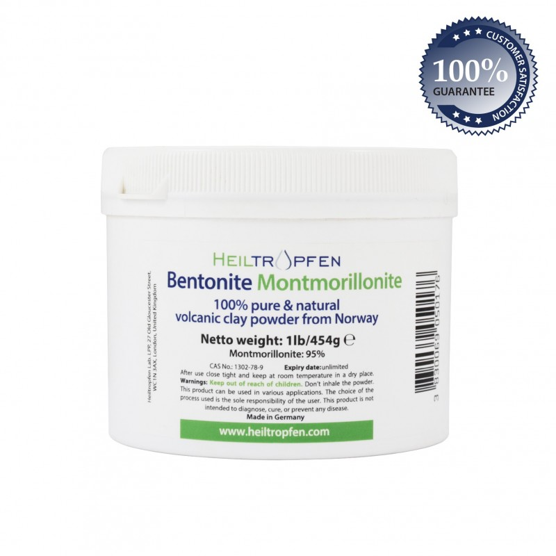 Bentonite Montmorillonite powder 454g