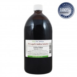 5% Lugol's Iodine Solution 33.8 fl Oz (1000ml)