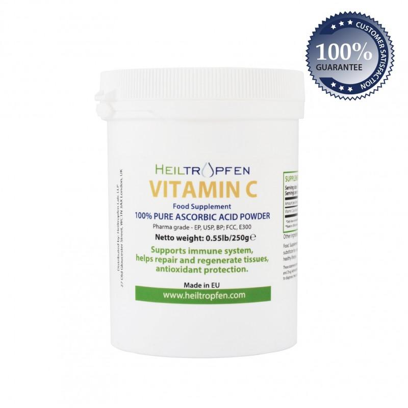 Vitamin C Pulver 250g
