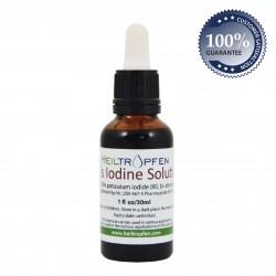Solución de yodo al 5% de Lugol 30 ml